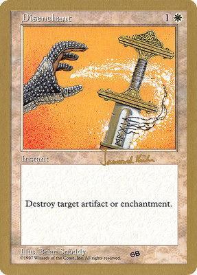 World Championships: Disenchant (Seattle 1997 (Janosch Kuhn - Sideboard) - Not Tournament Legal)