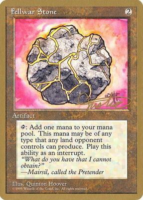 World Championships: Fellwar Stone (New York City 1996 (Mark Justice) - Not Tournament Legal)
