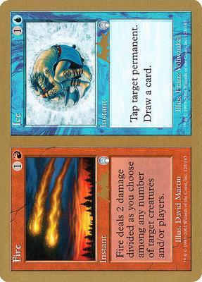 World Championships: Fire // Ice (Sydney 2002 (Brian Kibler) - Not Tournament Legal)