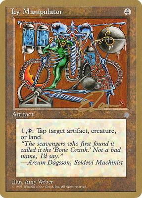 World Championships: Icy Manipulator (New York City 1996 (Eric Tam) - Not Tournament Legal)