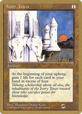 World Championships: Ivory Tower (New York City 1996 (Preston Poulter - Sideboard) - Not Tournament Legal)