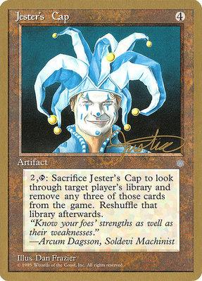World Championships: Jester's Cap (New York City 1996 (Mark Justice) - Not Tournament Legal)
