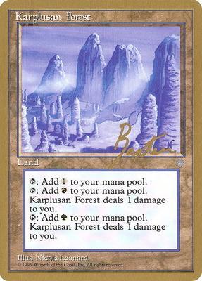 World Championships: Karplusan Forest (New York City 1996 (George Baxter) - Not Tournament Legal)