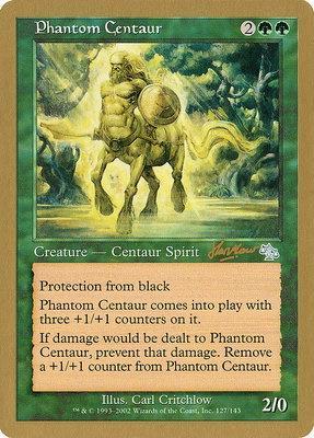 World Championships: Phantom Centaur (Sydney 2002 (Sim Han How) - Not Tournament Legal)