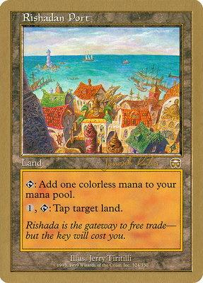 World Championships: Rishadan Port (Brussels 2000 (Janosch Kuhn) - Not Tournament Legal)