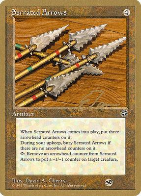 World Championships: Serrated Arrows (New York City 1996 (Eric Tam - Sideboard) - Not Tournament Legal)