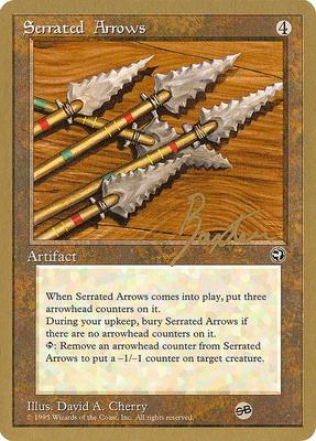 World Championships: Serrated Arrows (New York City 1996 (George Baxter - Sideboard) - Not Tournament Legal)
