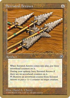 World Championships: Serrated Arrows (New York City 1996 (Leon Lindback) - Not Tournament Legal)