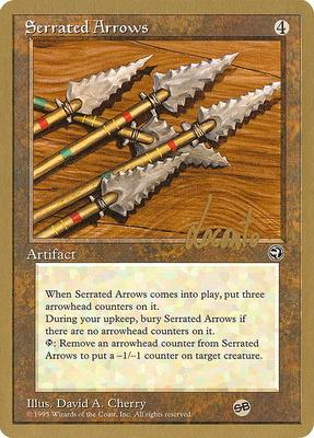 World Championships: Serrated Arrows (New York City 1996 (Michael Loconto - Sideboard) - Not Tournament Legal)