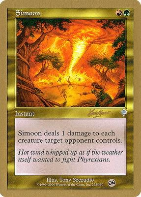 World Championships: Simoon (Sydney 2002 (Sim Han How - Sideboard) - Not Tournament Legal)