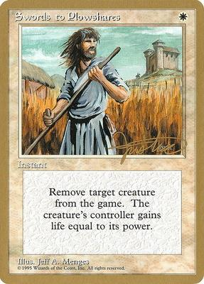 World Championships: Swords to Plowshares (New York City 1996 (Mark Justice) - Not Tournament Legal)