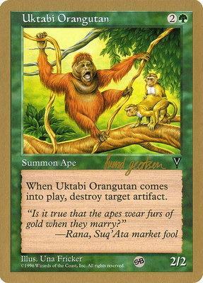 World Championships: Uktabi Orangutan (Seattle 1997 (Svend Geertsen - Sideboard) - Not Tournament Legal)