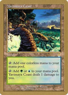 World Championships: Yavimaya Coast (Sydney 2002 (Raphael Levy) - Not Tournament Legal)