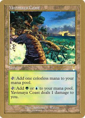 World Championships: Yavimaya Coast (Sydney 2002 (Sim Han How) - Not Tournament Legal)