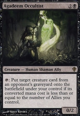 Worldwake Foil: Agadeem Occultist