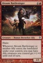 Worldwake Foil: Akoum Battlesinger