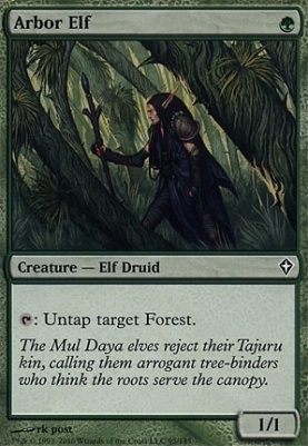 Worldwake: Arbor Elf