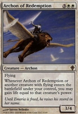 Worldwake Foil: Archon of Redemption