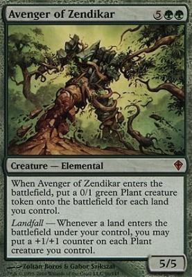 Worldwake Foil: Avenger of Zendikar