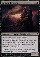 Worldwake Foil: Bojuka Brigand