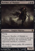 Worldwake Foil: Butcher of Malakir