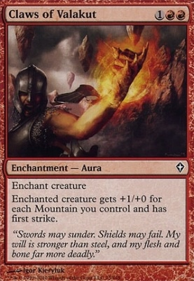 Worldwake Foil: Claws of Valakut