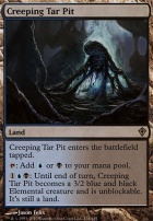 Worldwake Foil: Creeping Tar Pit