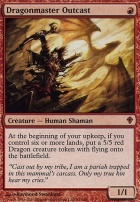 Worldwake Foil: Dragonmaster Outcast