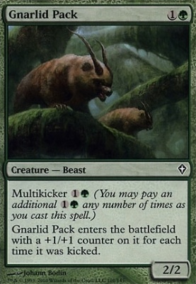 Worldwake: Gnarlid Pack