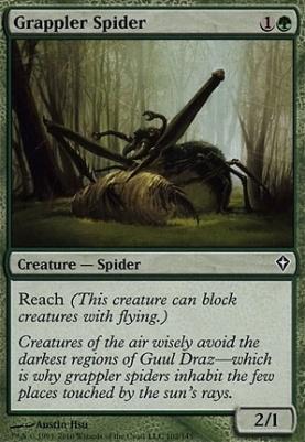 Worldwake Foil: Grappler Spider