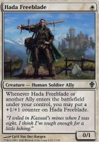 Worldwake Foil: Hada Freeblade