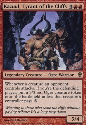 Worldwake: Kazuul, Tyrant of the Cliffs
