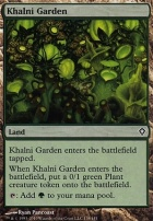Worldwake Foil: Khalni Garden