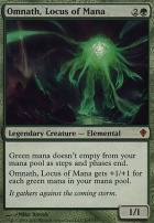 Worldwake Foil: Omnath, Locus of Mana