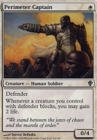 Worldwake Foil: Perimeter Captain