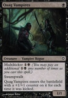 Worldwake: Quag Vampires