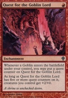 Worldwake Foil: Quest for the Goblin Lord