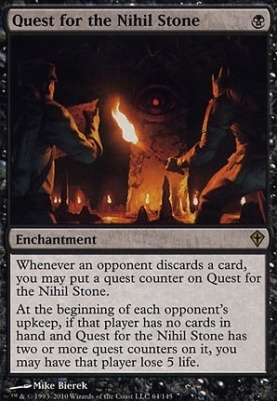Worldwake Foil: Quest for the Nihil Stone