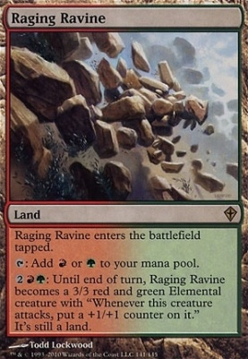 Worldwake Foil: Raging Ravine