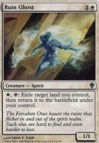 Worldwake Foil: Ruin Ghost