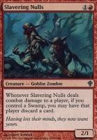 Worldwake Foil: Slavering Nulls