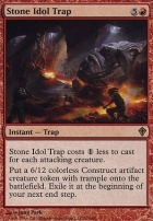 Worldwake Foil: Stone Idol Trap