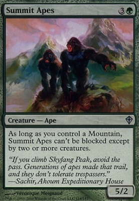 Worldwake: Summit Apes