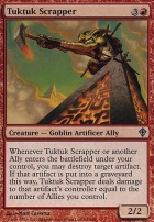 Worldwake Foil: Tuktuk Scrapper