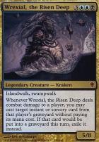 Worldwake Foil: Wrexial, the Risen Deep
