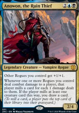 Zendikar Rising Commander Decks: Anowon, the Ruin Thief (Foil)