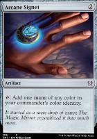 Zendikar Rising Commander Decks: Arcane Signet