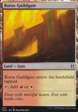 Zendikar Rising Commander Decks: Boros Guildgate