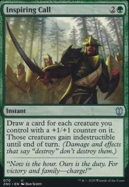 Zendikar Rising Commander Decks: Inspiring Call