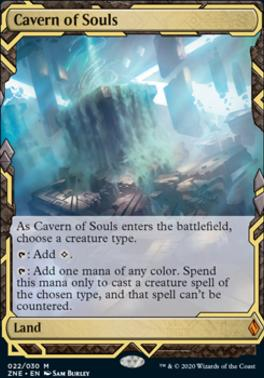 Zendikar Rising Expeditions: Cavern of Souls